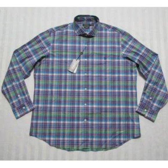 Polo  Classic-Fit Plaid Cotton Shirt